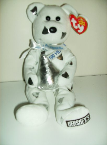 Ty Hershey Beanie Baby Bear - Kisses Bear - Walgreen�s Exclusive