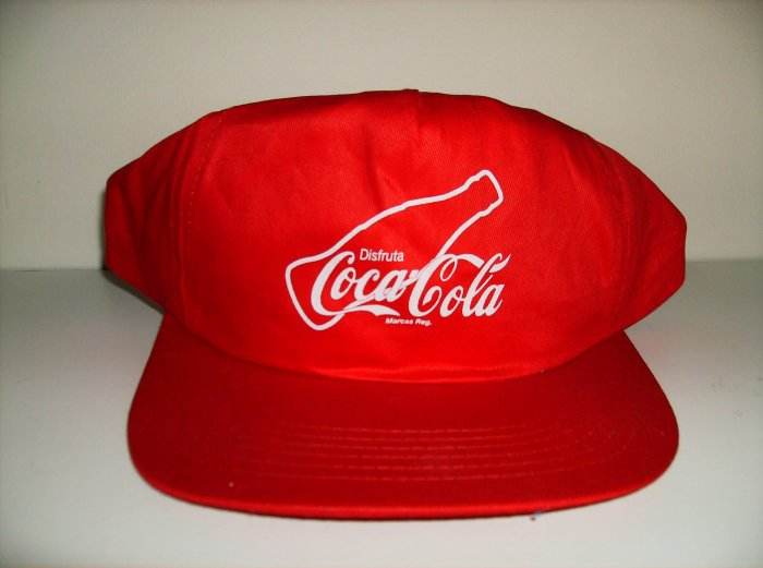 Coca Cola Red Baseball Cap from Spain