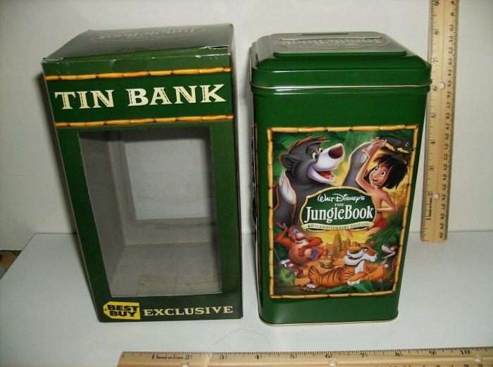 Jungle Book Best Buy Exclusive Tin Bank