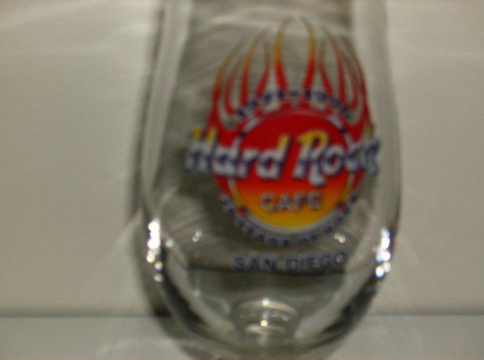 Hard Rock Cafe - Hurricane glass - San Diego Special Logo