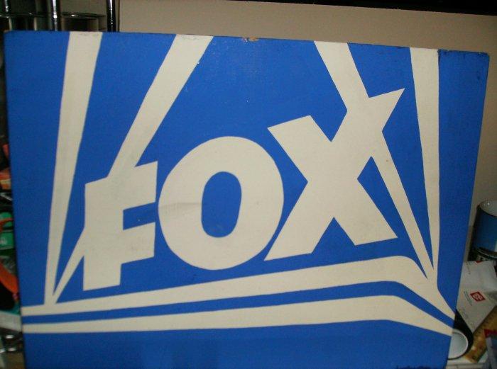 Fox Entertainment Hand Painted Studio Sign