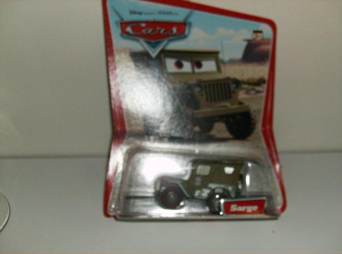 Disney Pixar Cars Movie Original Sarge in Desert Package