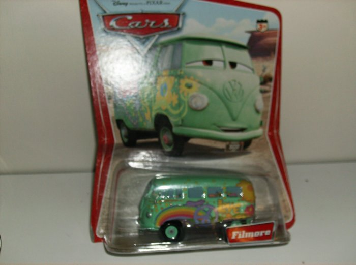 Disney Pixar Cars Movie Original Filmore in desert package