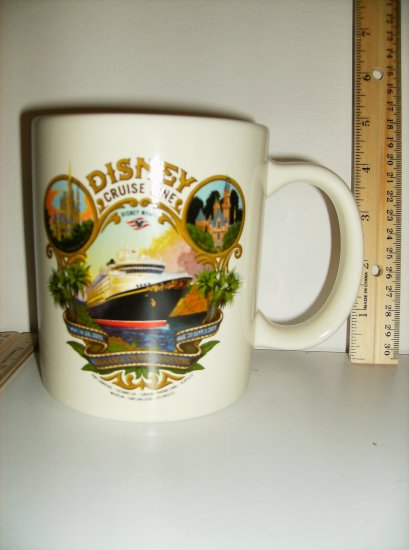 Disney Cruise Line (DCL )Panama Canal 2005 Inaugural Cruise Commemorative Mug