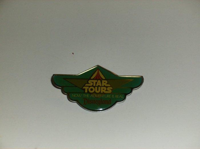 Disneyland Star Tours Press ( Media ) Pin 1986 'wings'