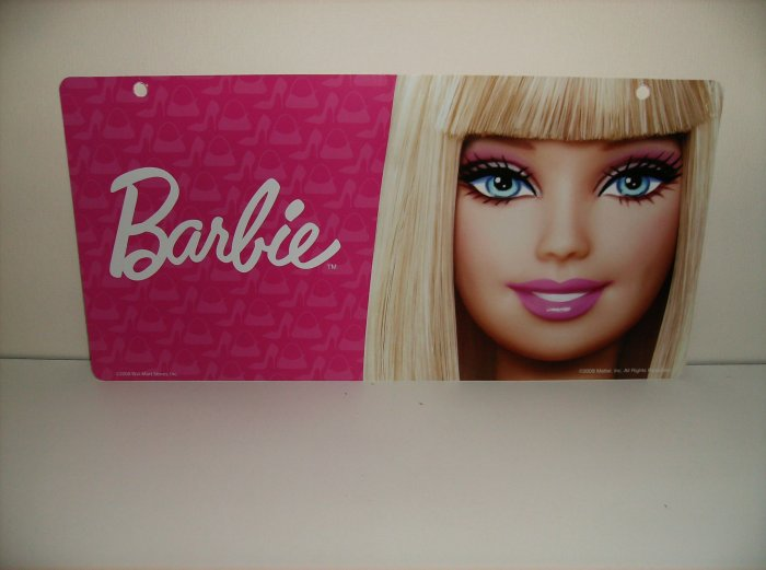 Mattel Barbie Display Sign Very Limited