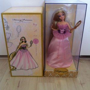 Disney Store Designer Doll Rapunzel LE