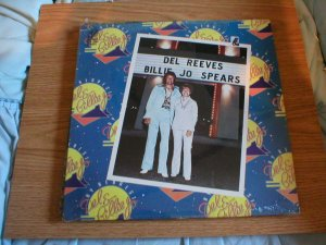 Del Reeves & Billie Jo Spears  On the Rebound LP