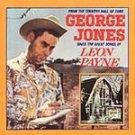 George Jones Sings the Great Songs of Leon Payne cd