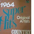 1964 Super Hits Original Artists Country LP