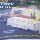 Bachmann Factory and dock 1/87 scale (rare)