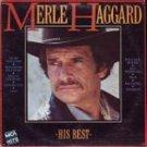 Merle Haggard His Best LP