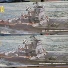 Airfix  (2) Moskva Heilcopter Carriers 1/600 scale