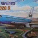 Minicraft Boeing 707-320B Braniff Airlines 1/144 scale