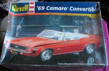 Revell  1969 Camaro Convertible 1/25 scale