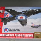 Airfix RAF Benevolent Fund BAE Hawk w/paint.brushes and glue 1/72 scale