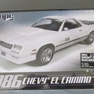 MPC 1986 Chevy El Camino 1/25 scale
