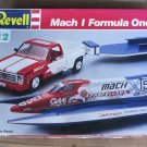 Revell Mach 1 Formula One Team 1/25 scale TRUCK, TRAILER AND BOAT
