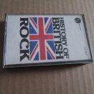History of British Rock Cassette Tape