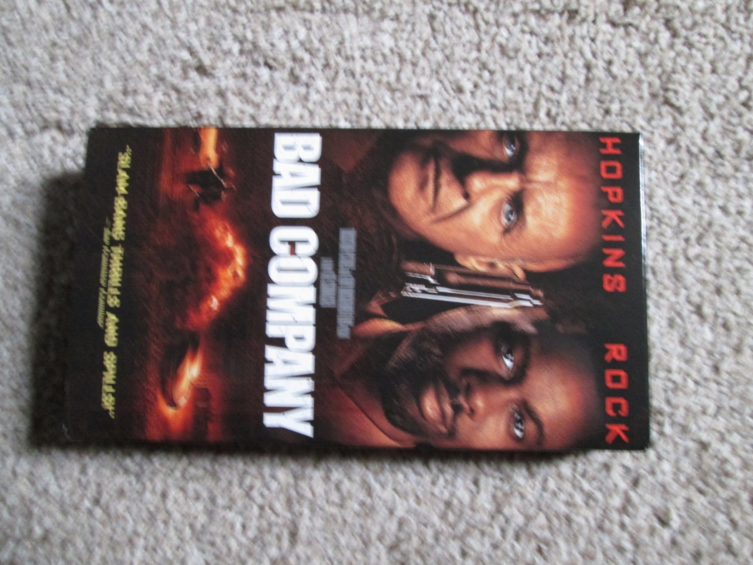 Bad Company VHS Hopkins & Rock