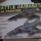 Lindberg F-4G Phantom Battle Damaged 1/72 Scale