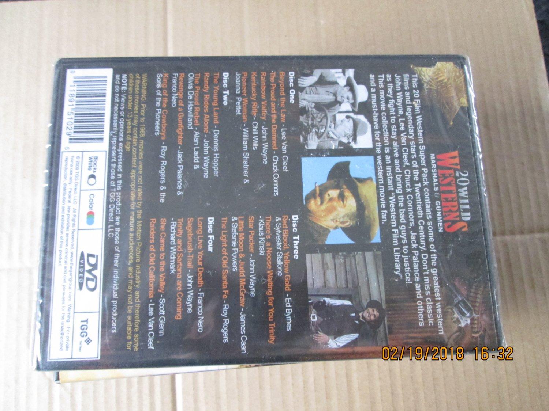 20 Wild Westerns Marshals & Gunmen dvd