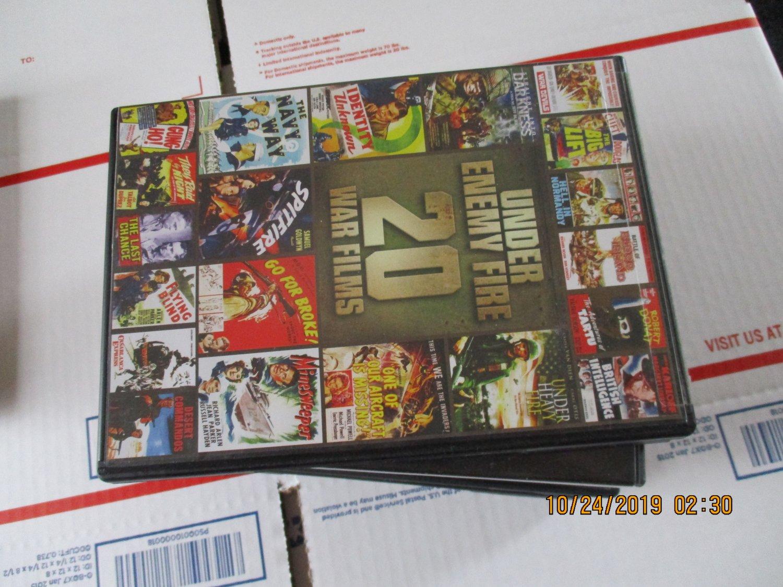 Under Enemy Fire 20 War Films DVD
