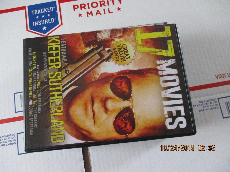 17 Movies on 4 DVD's
