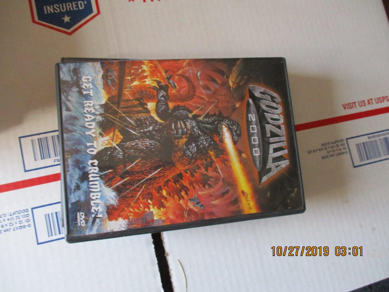 Godzilla 2000 dvd