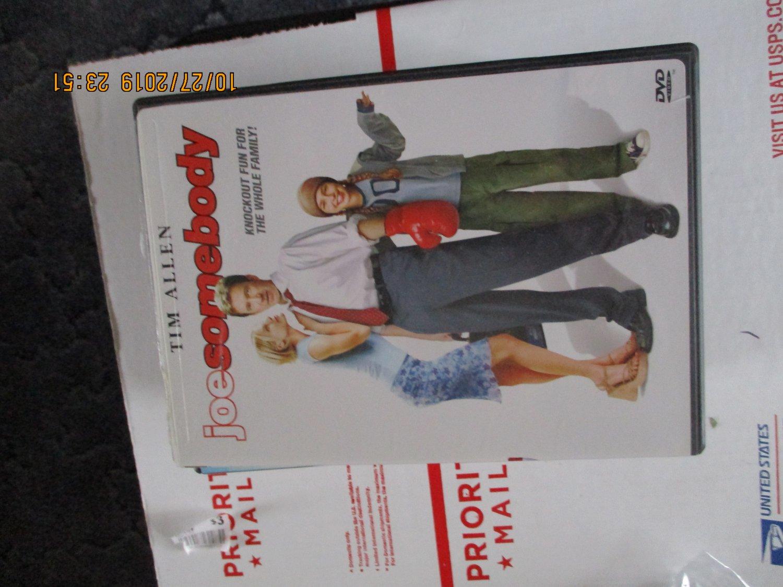 Joe Somebody dvd Tim Allen
