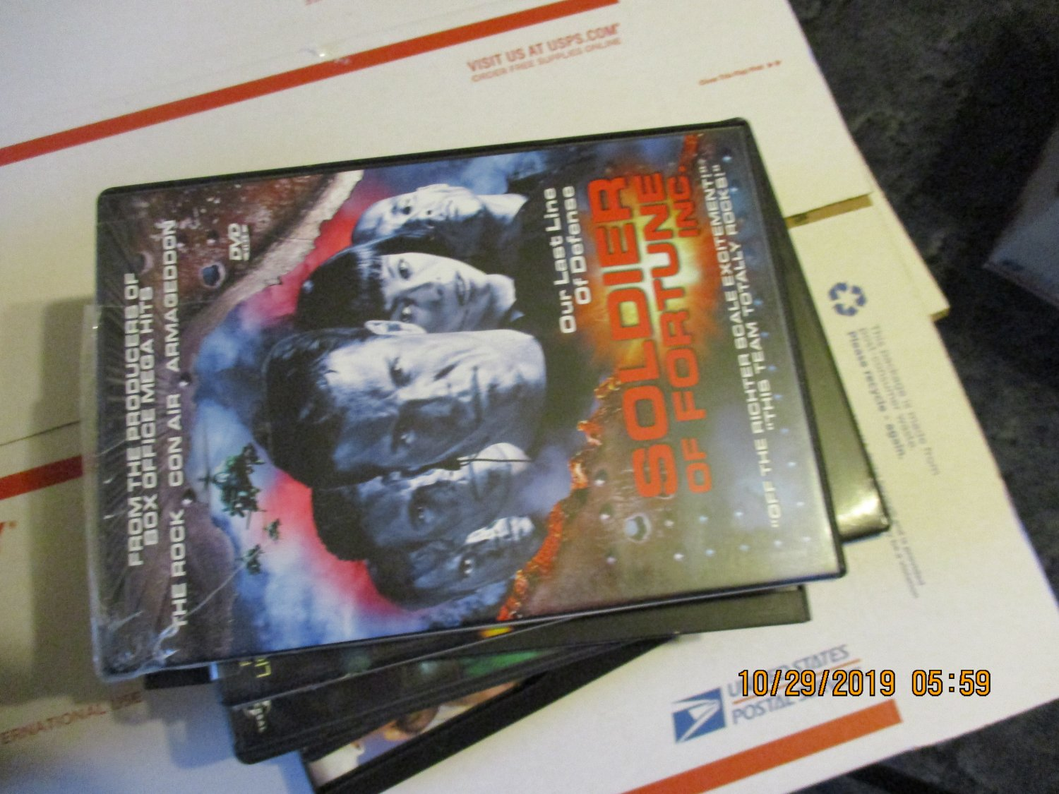 Soldier of Fortune Inc. dvd