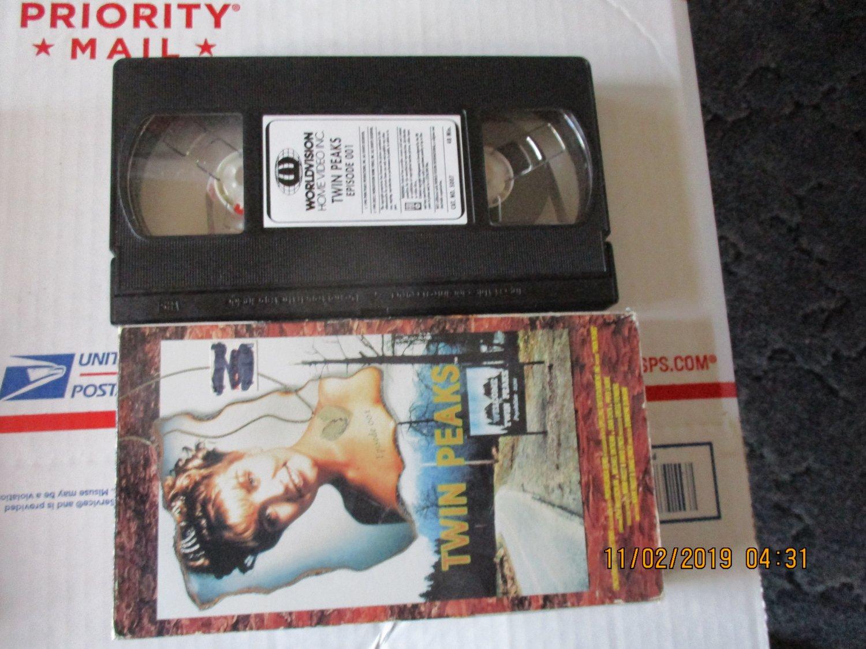 Twin Peaks VHS Original Episode 001