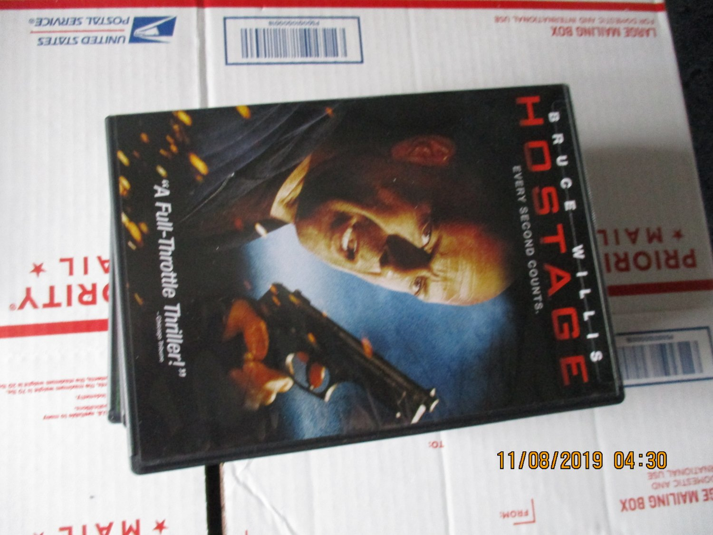 Hostage DVD stars Bruce Willis
