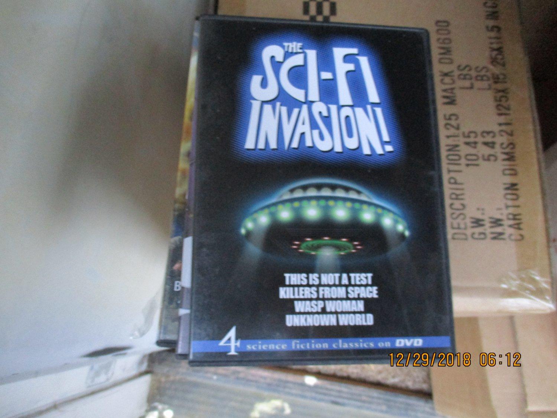 The Sci-Fi Invasion DVD