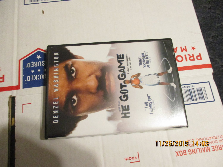 He Got Game DVD Denzel Washington