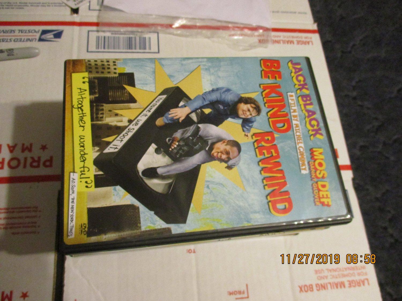 Be Kind Rewind DVD Jack Black and Danny Glover