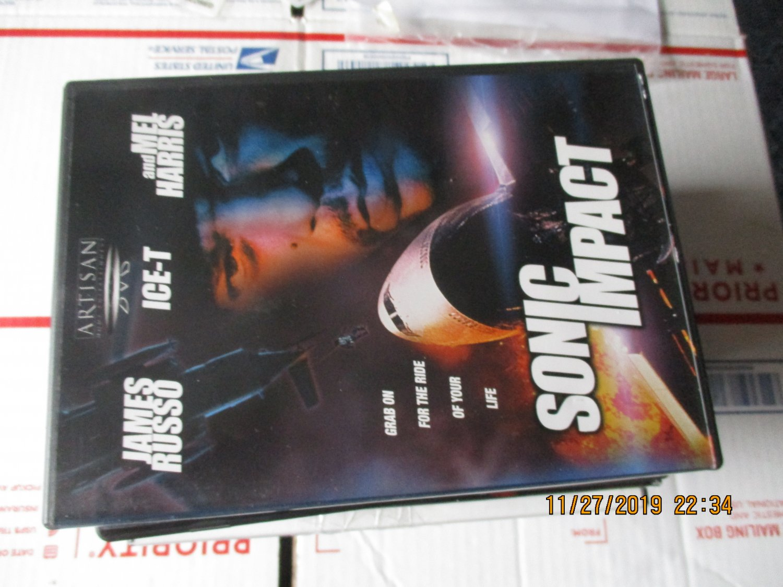 Sonic Impact dvd Ice Tea