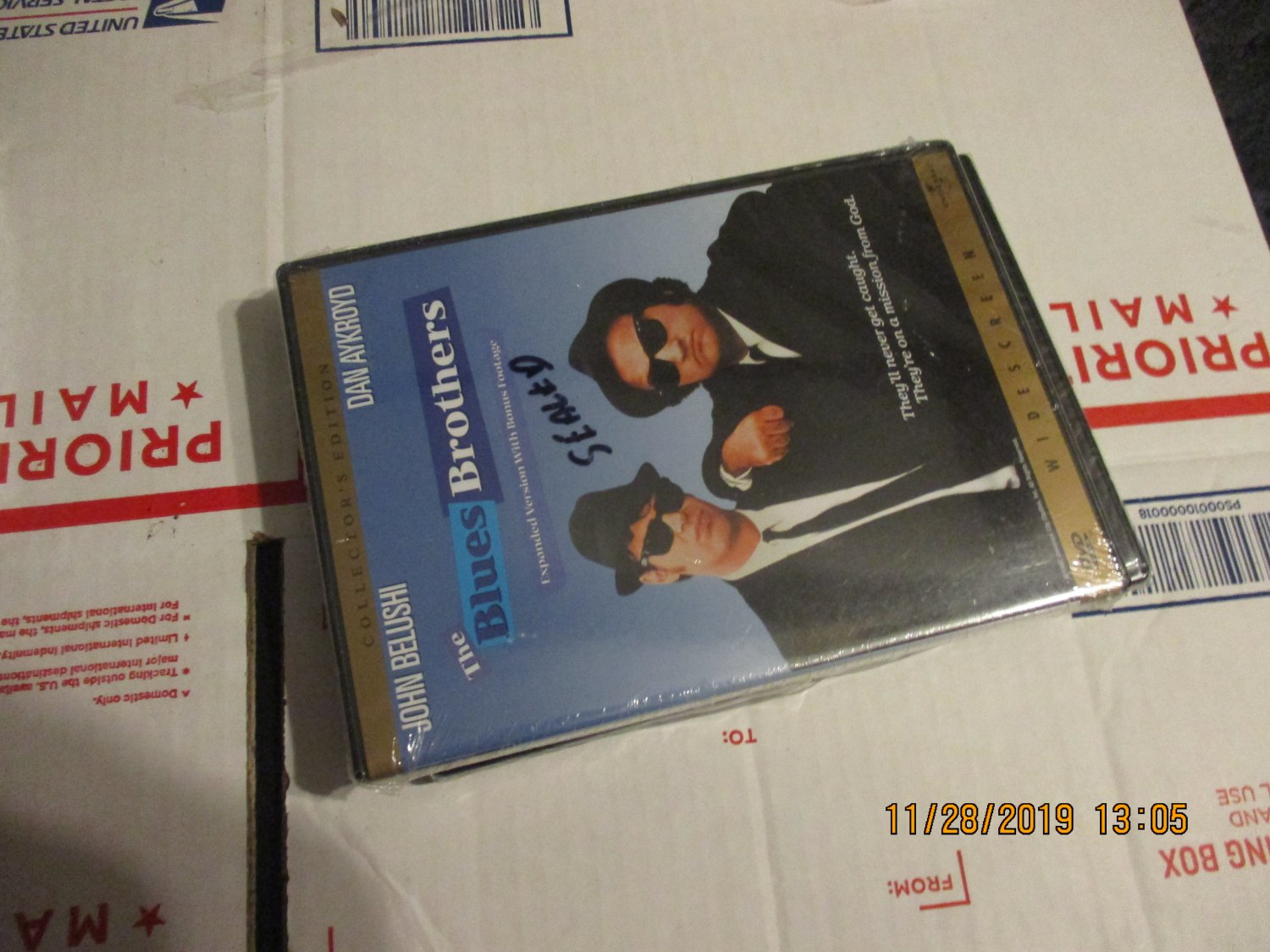The Blues Brothers (DVD, 1998, Collector's Edition Widescreen) factory sealed