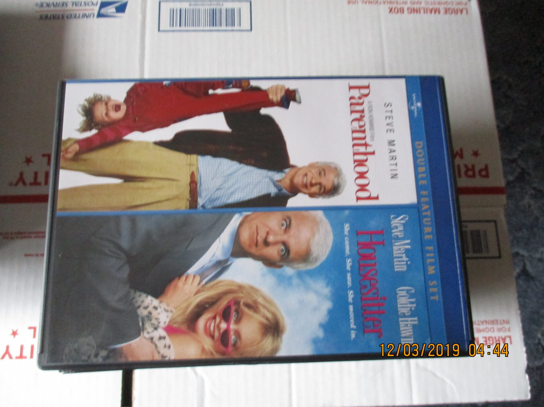 Parenthood and Housesitter DVD  Steve Martin