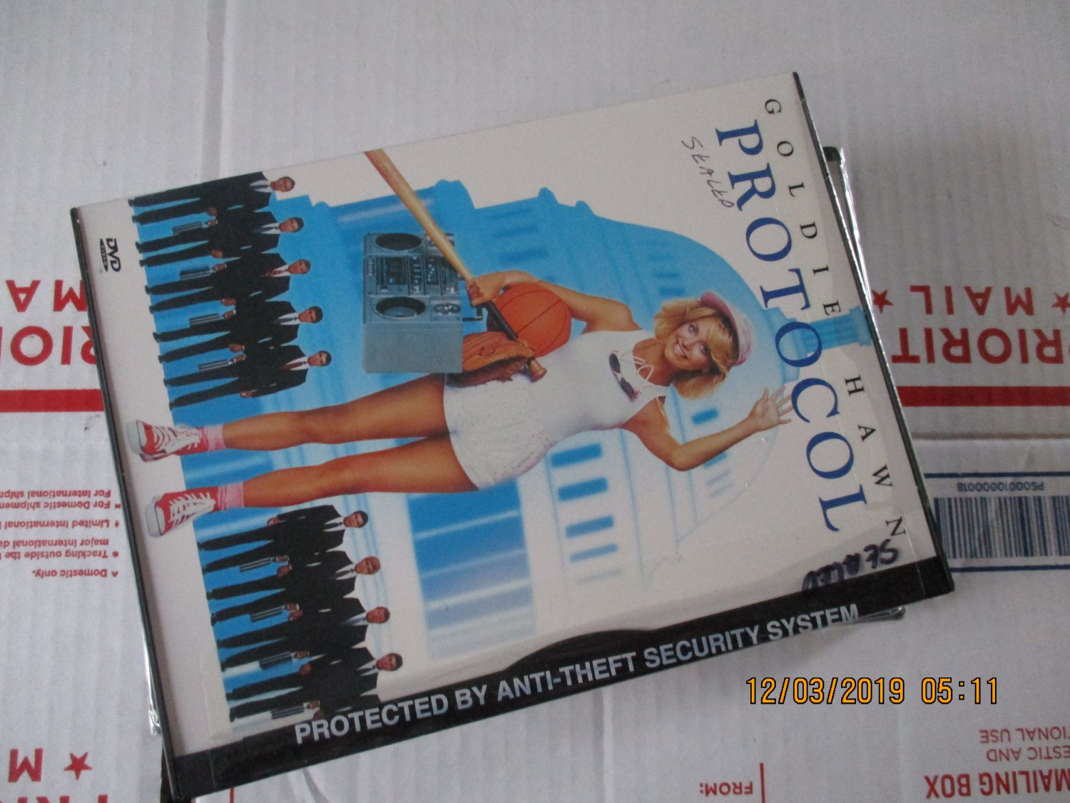 Protocol dvd  Golden Hawn factory sealed