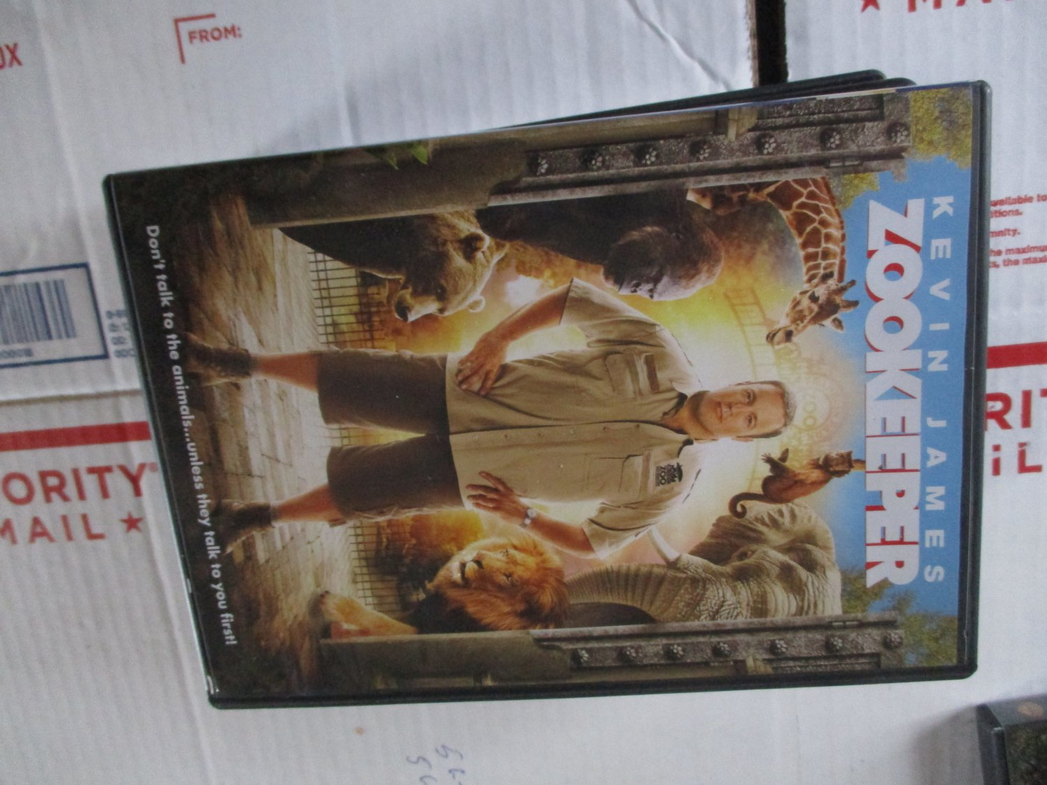 Zookeeper dvd Kevin James
