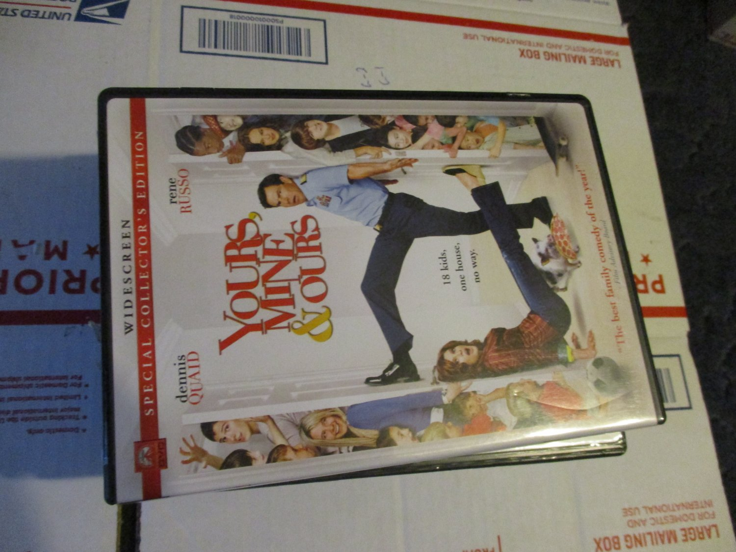 Yours, Mine & Ours DVD  Dennis Quad