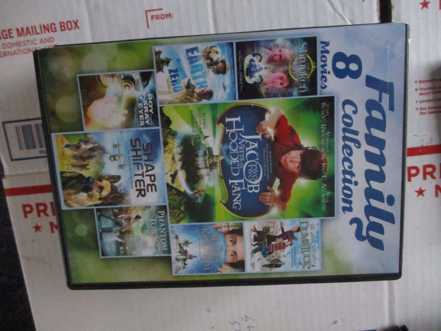 Family 8 Movies Collection DVD