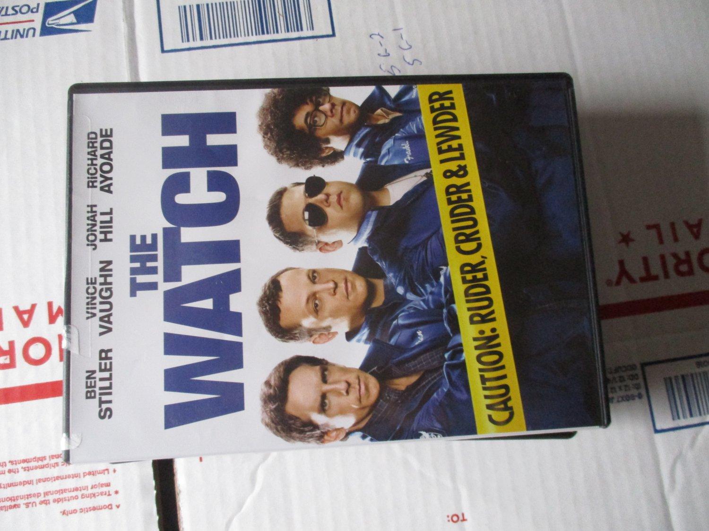 The Watch dvd  Ben Stiller