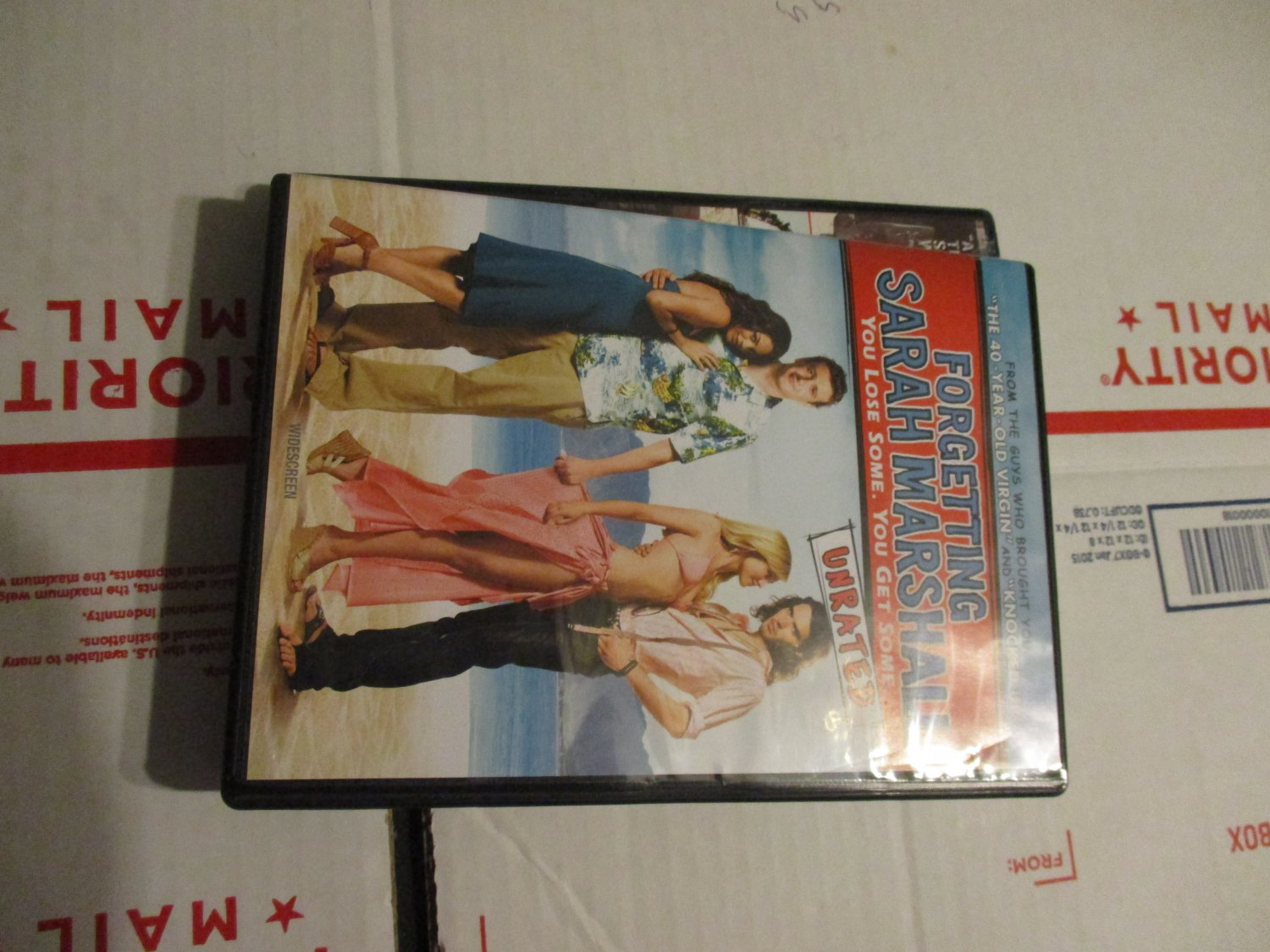 Forgetting Sarah Marshall dvd You Lose Some, You Get Some Unrated