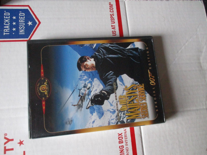 James Bond 007 On Her Majesty's Secret Service dvd