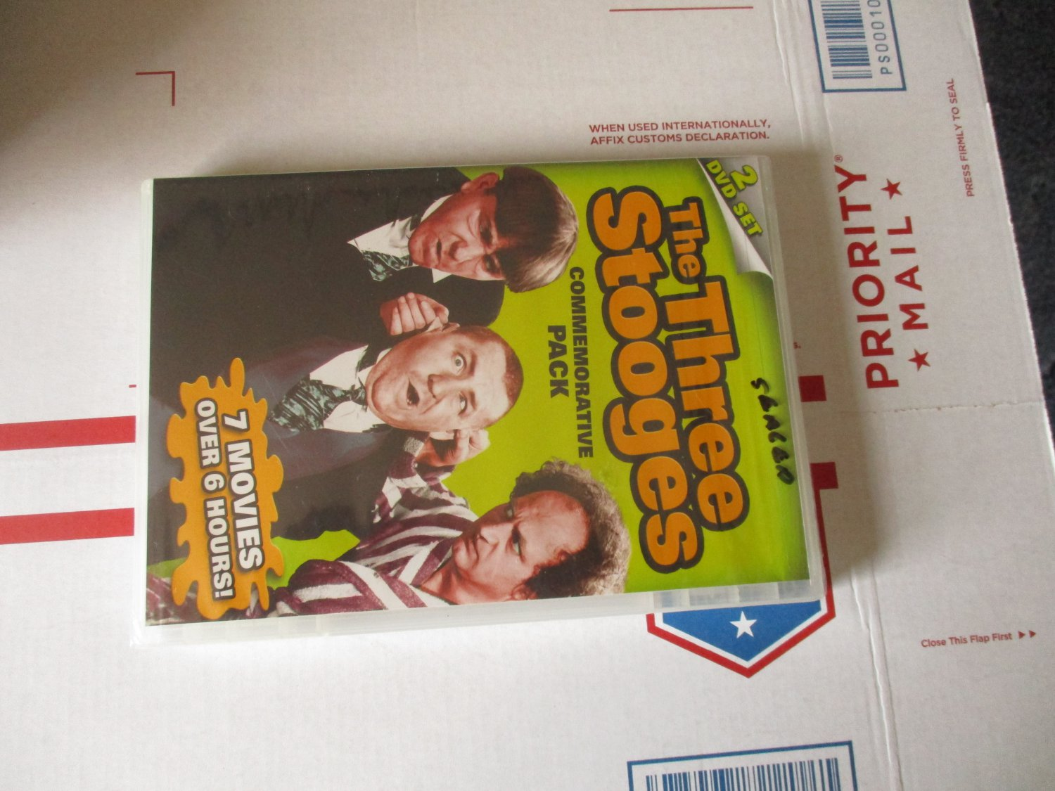 The Three Stooges  Commemorative Pack dvd factory sealed