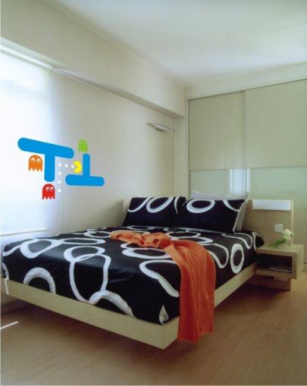 vinyl wall art decal huge pacman apprx.3 feet x 5 feet