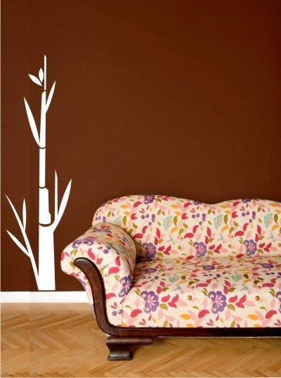 "vinyl wall art decal sticker bamboo tree 17"" x 48"""