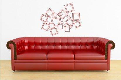 "vinyl wall art | multi squares (23"" x 30"")"